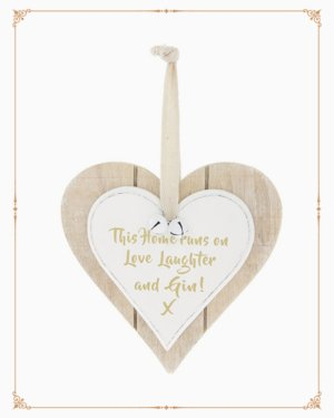 DBL Heart Plaque Love Laughter Gin £2.99 - + Description Contains Dimensions Description Related Products Placeholder It's Gin O'Clock plaque £3.99 Add to basket Placeholder Gin & Tonic Liquid Sanity Metal Sign £4.99 Add to basket Placeholder Gin Classy Get Wasted Plaque £3.99 Add to basket Placeholder Grab the Gin and Tonic Plaqu