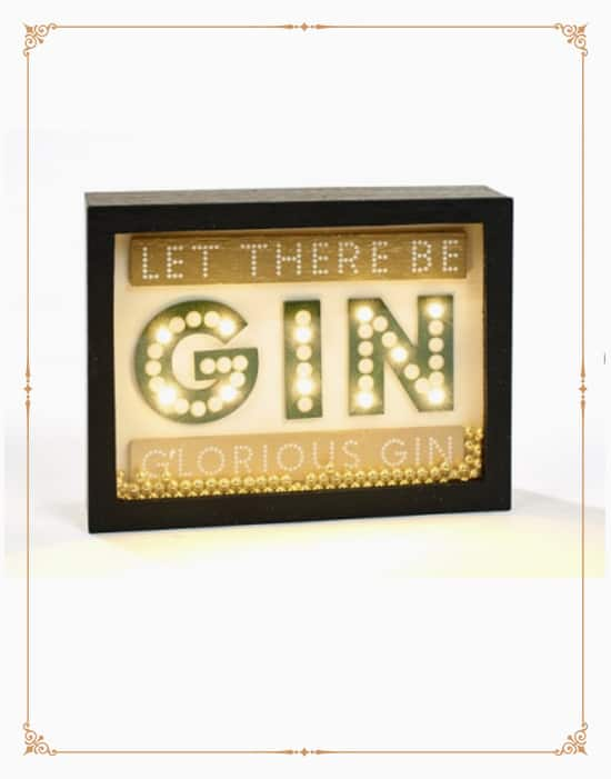 Gin Framed Led Block