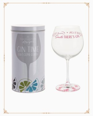 Gin Time Copa - Smile There's Gin