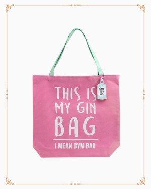 Gym and Tonic Gin Bag Tote Bag