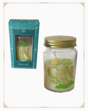 Lemon & Lime Gin Slogan Candle