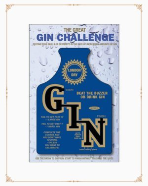 Gin Challenge Game