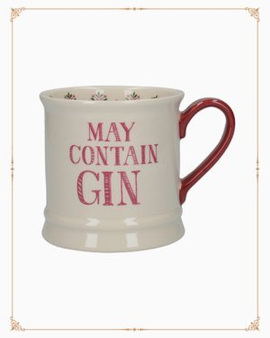 Stir It Up Celebrate May Contain Gin Tankard Mug